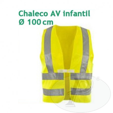 Chalecos infantiles de alta visibilidad