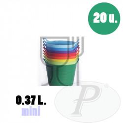 Cubo para uso alimentario 0,37 L