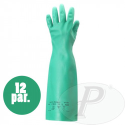 Guantes Ansell Solvex 37-185 nitrilo