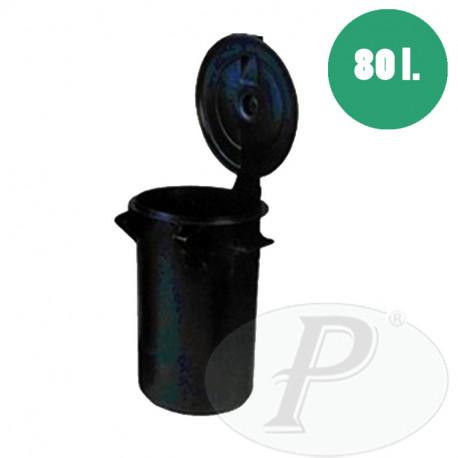 Barreños para recogida de basuras 80 litros