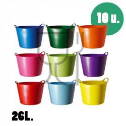 Cubo para uso alimentario de 26 litros