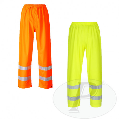 Pantalón impermeable reflectante