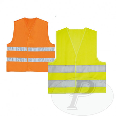 Chalecos reflectantes bandas 3M amarillos