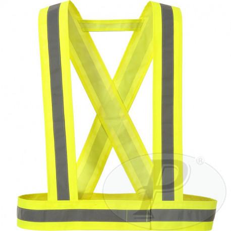 Tirantes alta visibilidad amarillos