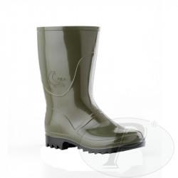 Botas de agua oliva media caña Foca