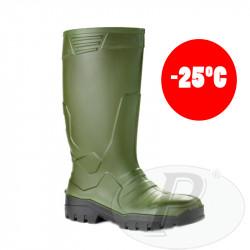 Botas de agua de poliuretano verdes Prado -25ºC
