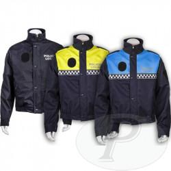 Cazadoras reversibles para policía local
