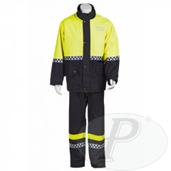 Trajes impermeables para policía local