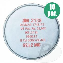 Filtros 3M para partículas 2138