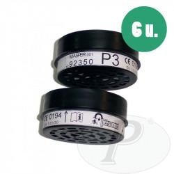 Filtros mascarillas partículas y aerosoles 92350
