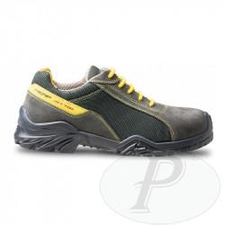 Zapatos PERF de seguridad transpirables con piel de ante