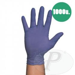 Guantes desechables de nitrilo púrpura