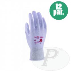 Guantes 3L PU en palma sobre nylon/carbón