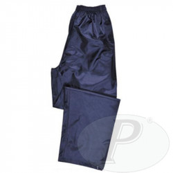 Pantalones impermeables verdes o azules