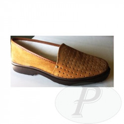 Mocasines serraje picado