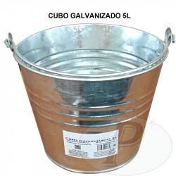 Cubos galvanizados pequeños 5 litros