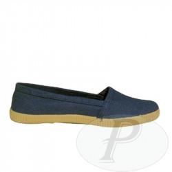 Zapatillas camping azules clásicas