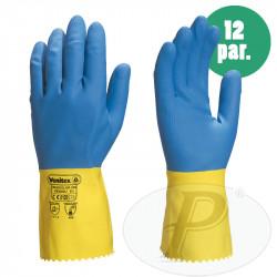 Guantes de limpieza flocados  Duocolor VE330