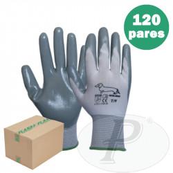 Guantes recubiertos de nitrilo sin costuras 501B