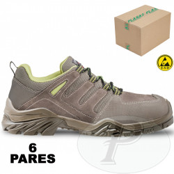 Zapatos de seguridad piel resistente PERF