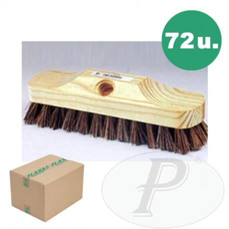 Cepillos buque 10x5 fibra vegetal - 2u