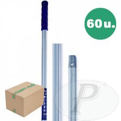 Palos metálicos reforzados Alu-Pro  140cm