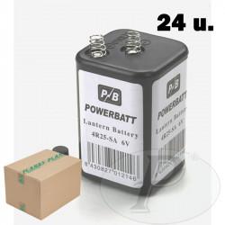 Baterias de 6v para balizas de señalizacion