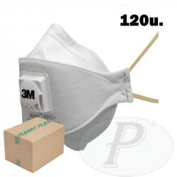 Mascarillas respiratorias plegables 3M