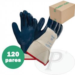 Guantes nitrilo con puño de seguridad Ansell Hycron 27-607 - 12 pares