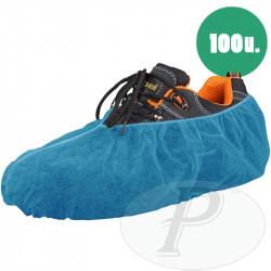 Cubrezapatos desechables azules polipropileno