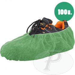 Cubrezapatos verdes polipropileno