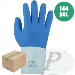 Guante protección química de látex