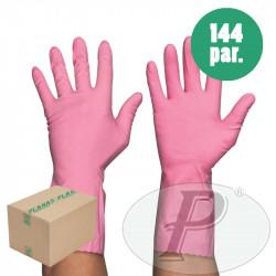 Guantes menaje monocolor rosa líder