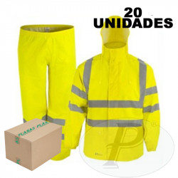 Traje reflectante impermeable