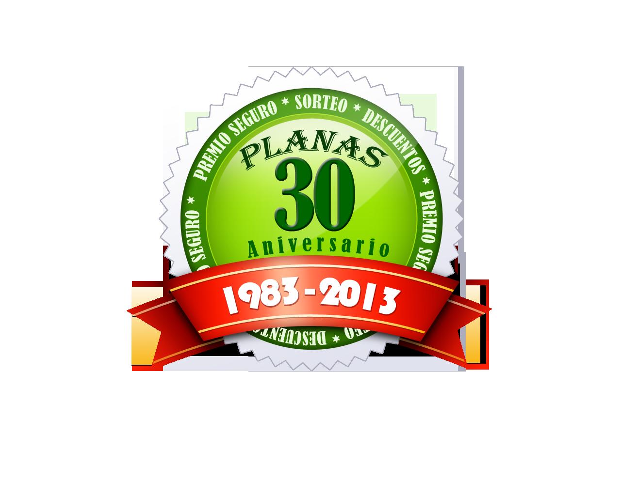 30 aniversario PLANAS