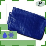 Toldo azul de polietileno 120 gr/m2