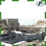 Construcción estanque embalse con lona EPDM